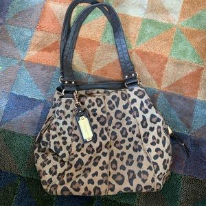 Gorgeous Tignanello leopard print handbag